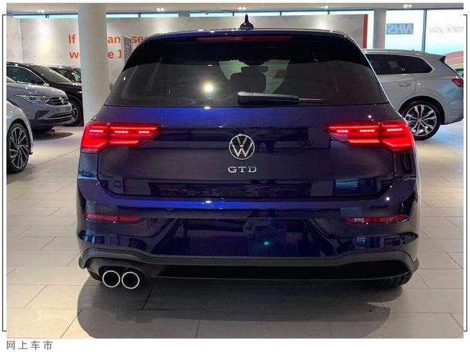 大众高尔夫新车型到店实拍搭2.0T/换运动格栅-图4