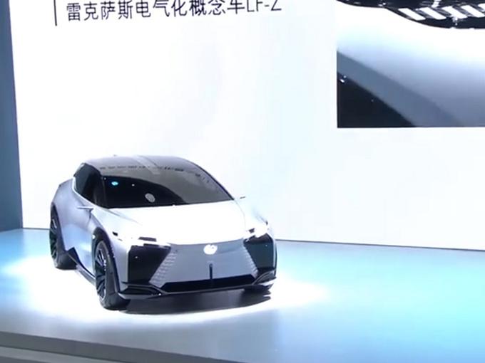 雷克萨斯LF-Z概念车亮相 透明车顶/环抱式座舱