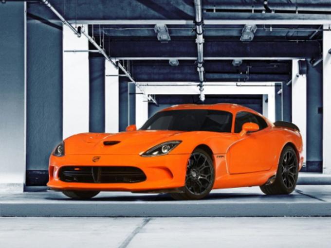 道奇蝰蛇一季度销量 搭V10引擎/熏黑进气格栅
