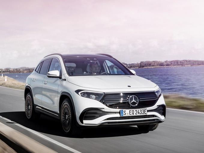 奔驰EQA新车型曝光!增推双电机全驱/性能大幅提