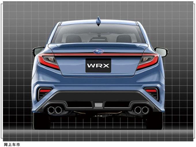 斯巴鲁新一代WRX及STI曝光与全新Levorg共同开发-图3