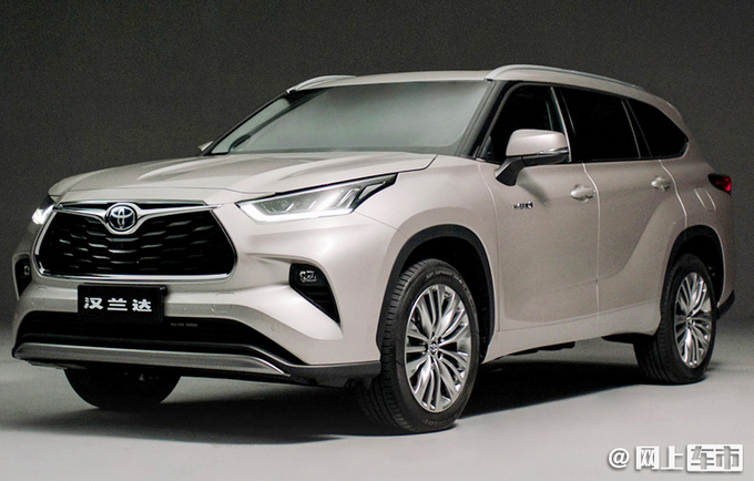 广汽丰田2021年最新规划! 第四代汉兰达6月预售