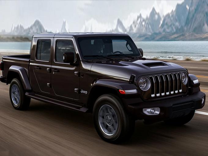 Jeep新款角斗士发售 搭V6引擎/配嵌入式中控屏-图1