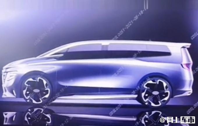 星途将推出全新MPV!造型设计前卫pk广汽传祺M8