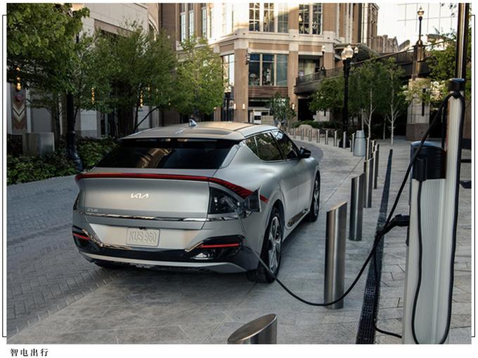 起亚EV6首批车型预售告罄 搭双电机/明年初交付-图4