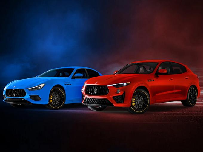玛莎拉蒂将推两款新车型!配置升级/增特殊涂装