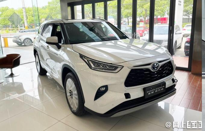 丰田全新汉兰达预售28-37万 起售涨4万多 全系混动