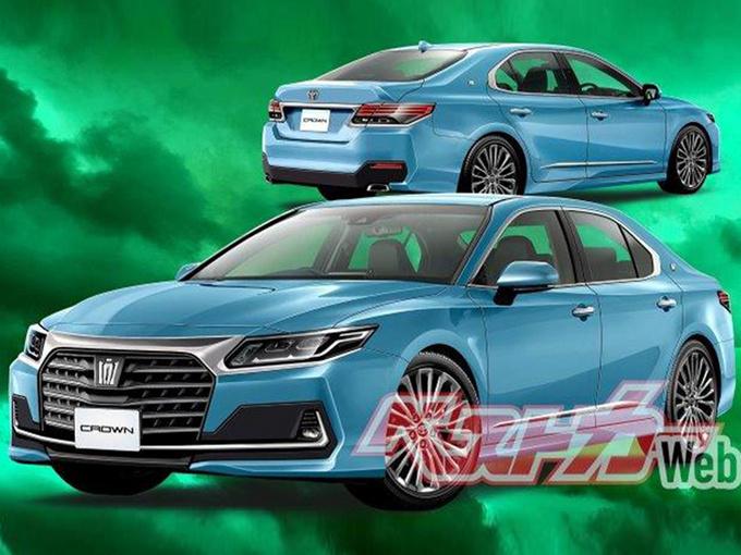丰田将推出全新皇冠轿车 改用前轮驱动/配矩阵大
