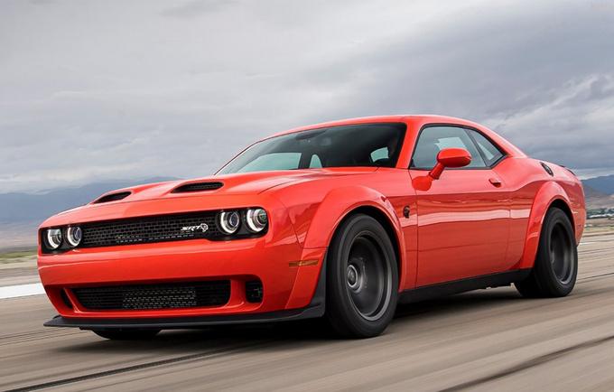 道奇挑战者SRT特别版 搭6.2T V8引擎/3.25秒破百