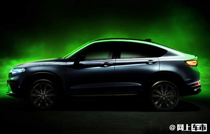吉利星越新车型曝光!外观更运动 下半年上市
