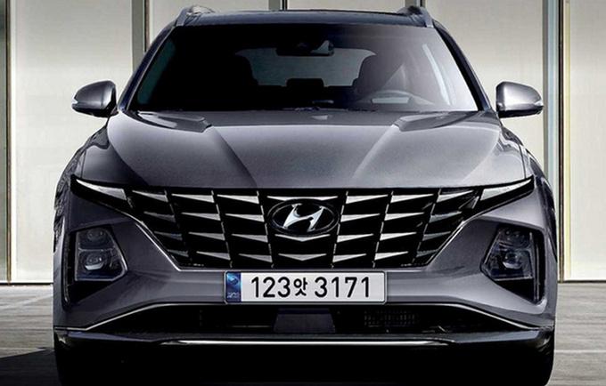 现代全新途胜实车内饰 方向盘酷似A8/比本田CR-