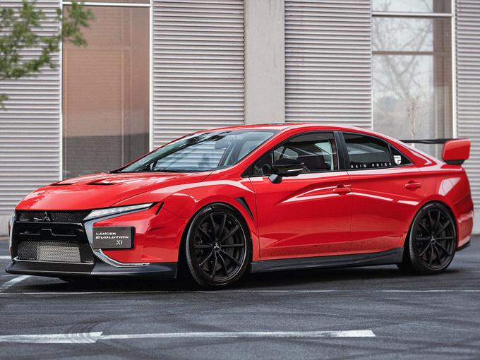 三菱全新一代EVO曝光!外观酷似GT-R/搭2.0T引擎