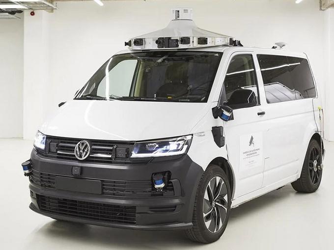大众ID.BUZZ海外测试 自动驾驶技术升级