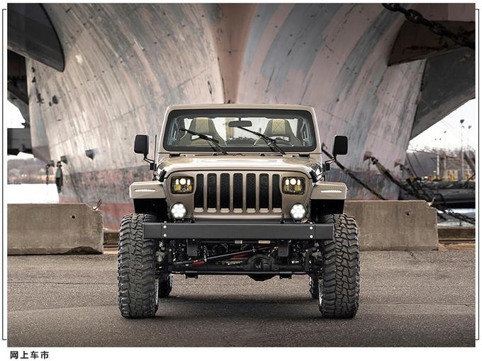 Jeep牧马人推复古改装版悬挂升级/经典方灯造型-图2