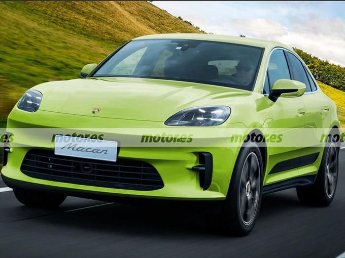 保时捷Macan电动版计划明年亮相,取代Turbo版车型