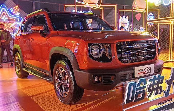 四驱+后锁!哈弗大狗2.0T车型上市 售价15.59万元