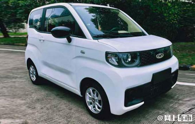 """奇瑞全新""""QQ""""年内上市 尺寸比MINI EV大 造型更萌"""