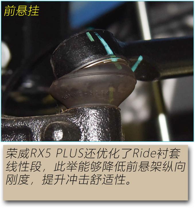 行驶品质真的有提升吗 荣威RX5 PLUS底盘解析-图11