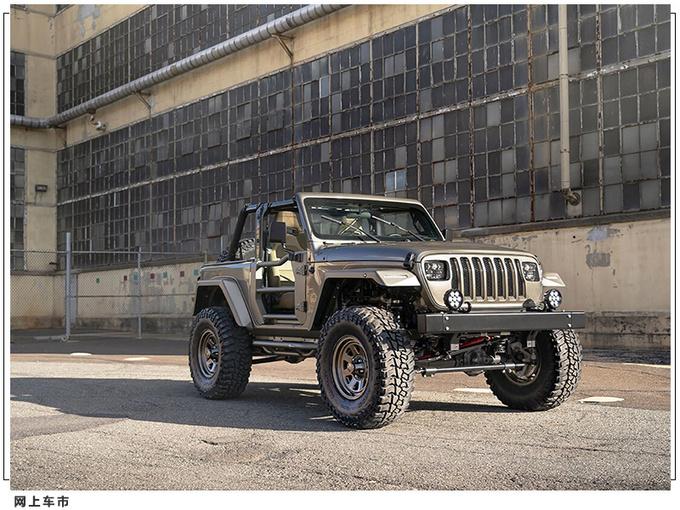 Jeep牧马人推复古改装版悬挂升级/经典方灯造型-图3