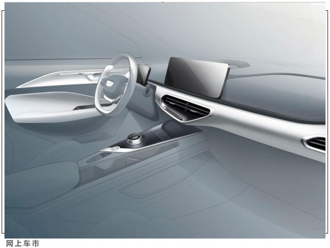几何C纯电动跨界SUV实拍图 有望于三季度上市-图8