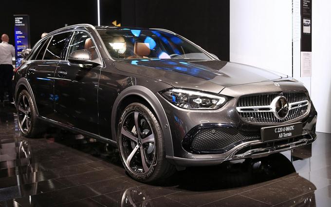 奔驰C级新车型全球首发!比基础款实用/标配四驱