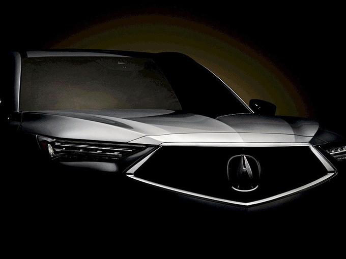 讴歌全新MDX即将发布!搭3.5L引擎/钻石中网设计