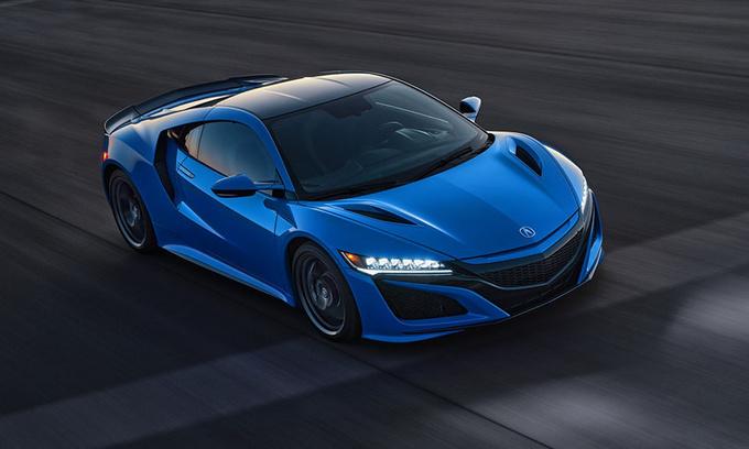 讴歌新款NSX售价曝光 搭3.5T引擎/全新蓝色车漆