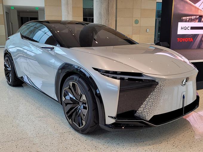 雷克萨斯LF-Z实拍 e-TNGA平台打造/2022年底前量产