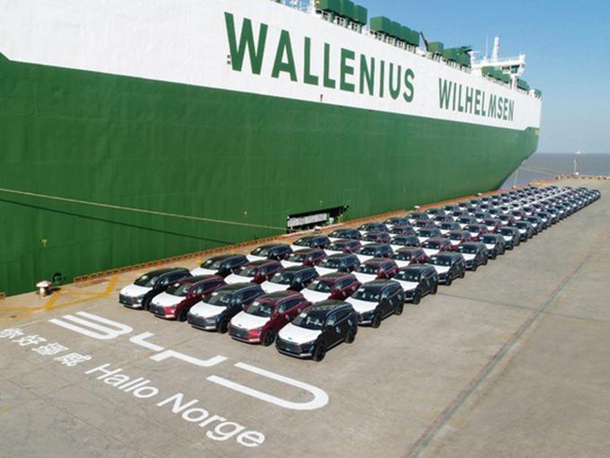 比亚迪唐EV已出口挪威 搭刀片电池续航超500公里-图1