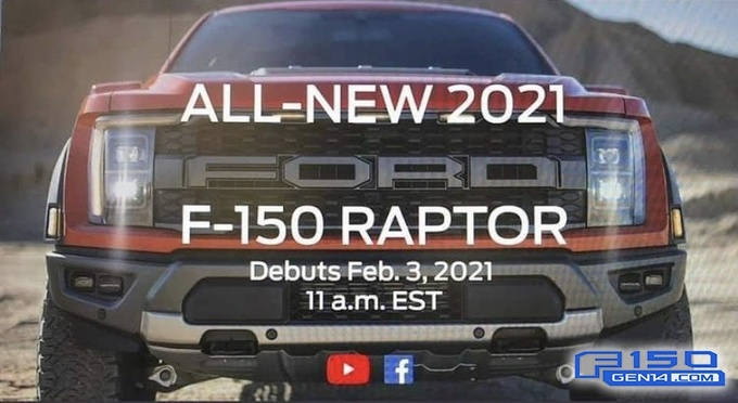 福特发布新款猛禽预告!2月4日亮相,野马5.2升