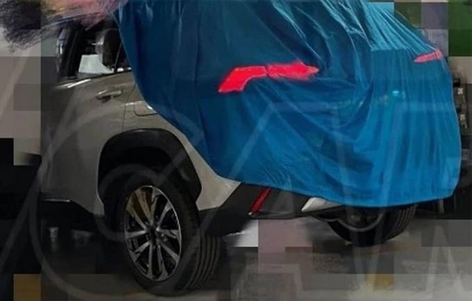 """丰田""""SUV""""版卡罗拉实车!年内发布/搭2.0L引擎"""