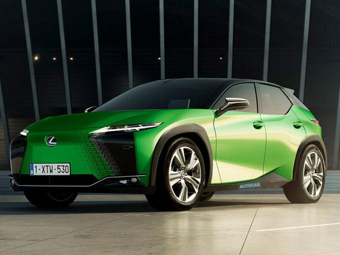 雷克萨斯全新SUV曝光!e-TNGA平台/2022年内推出