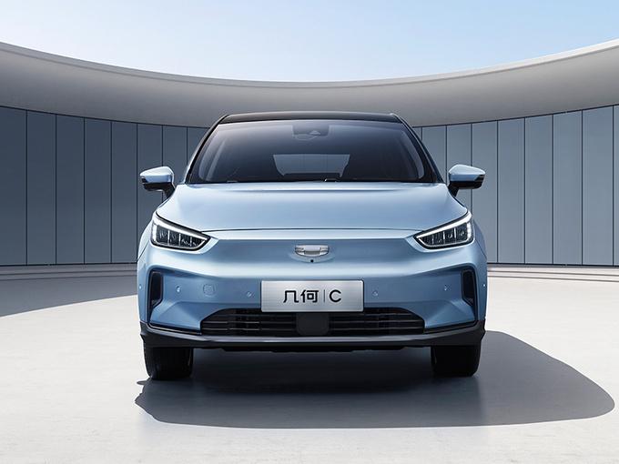几何C纯电动跨界SUV实拍图 有望于三季度上市-图3