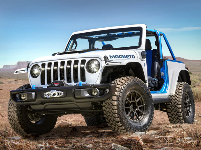 Jeep牧马人新车型曝光!换搭新动力/越野性能提升