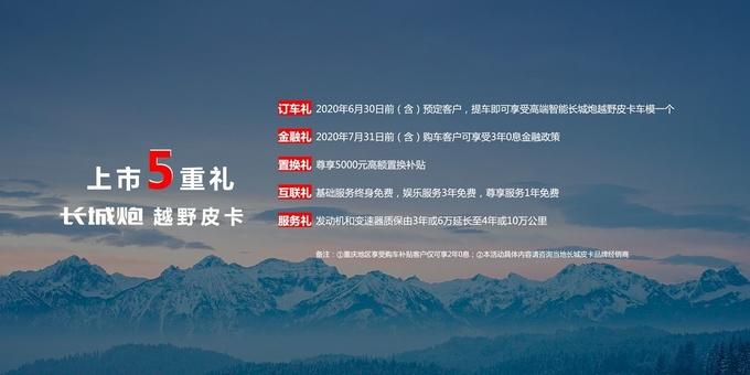 江苏放宽皮卡限制长城越野炮上市售16.98万起-图12