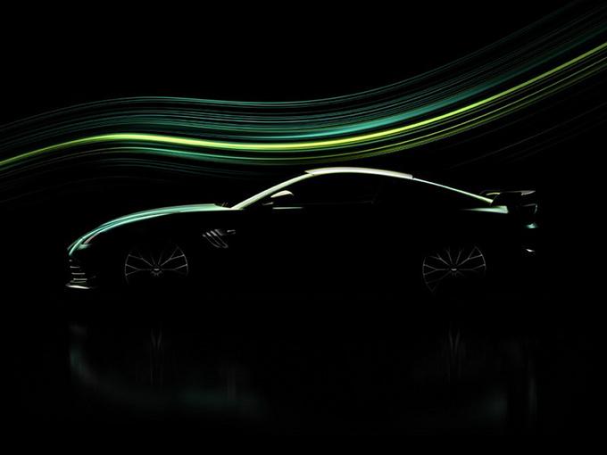 阿斯顿·马丁将推新款跑车 搭4.0T/绿色车身涂装