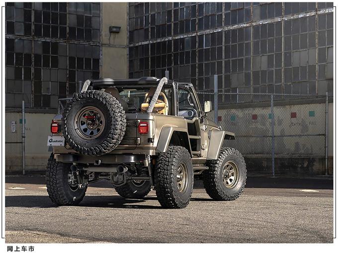 Jeep牧马人推复古改装版悬挂升级/经典方灯造型-图4