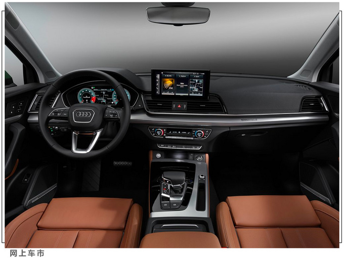 奥迪新款Q5官图发布三季度开售/车身尺寸再升级-图6