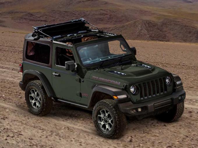 Jeep牧马人特别版发布!搭折叠软顶/限量100台