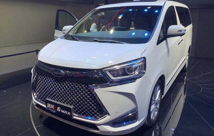 江淮瑞风L6 MAX上市 比别克GL8更大 17.28万起售