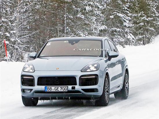 保时捷卡宴Coupe GT实拍 搭4.0T发动机