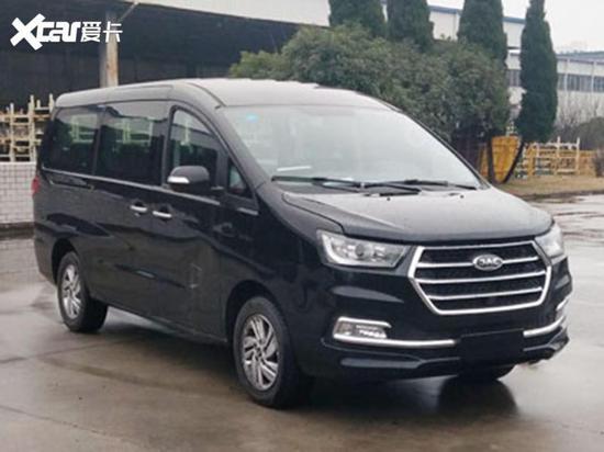 江淮瑞风M4 2.0T柴油版申报图 3月上市