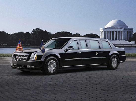 美国总统的新车?全新凯迪拉克凯雷德加长版