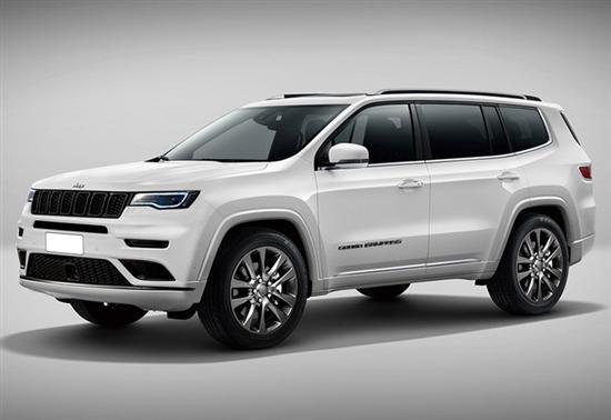 Jeep全新大切诺基曝光 尺寸超大众途昂