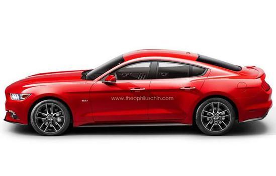 福特野马四门版确认 搭V8引擎/实用性提升