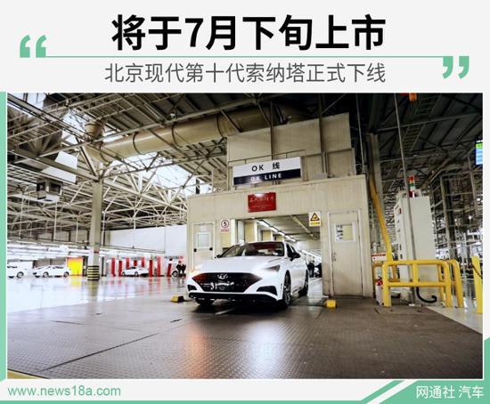 搭CVVD技术 北京现代第十代索纳塔正式下线