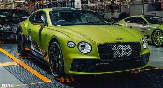 宾利欧陆GT新车型下月交付 限量15台