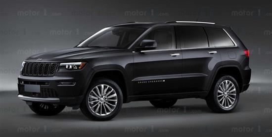 全新Jeep大切诺基渲染图曝光 或年内发布