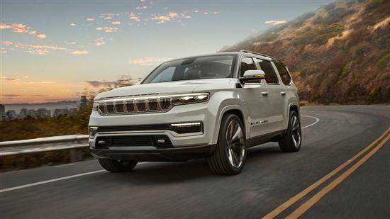 对标凯雷德 Jeep全新旗舰SUV概念车发布