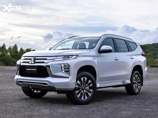 帕杰罗·劲畅增一款新车型 售29.98万元